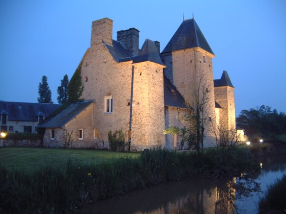 Outside Views Of La Ducrie The Medieval Chateau Castle